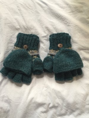 Knitted Gloves multicolored