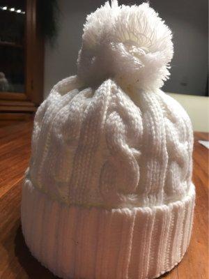 dove Chapeau en tricot blanc cassé