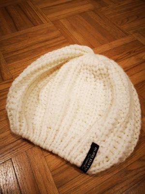 Blind Date Chapeau en tricot blanc