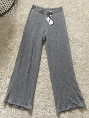 Valery Pantalón de lana gris-gris oscuro