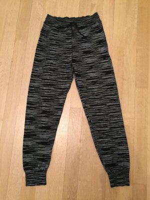 Missoni Pantalone di lana nero-bianco