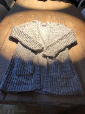 creamie Cardigan a maglia grossa grigio