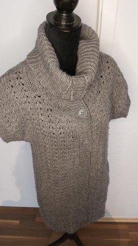 Opus Cardigan a maglia grossa grigio