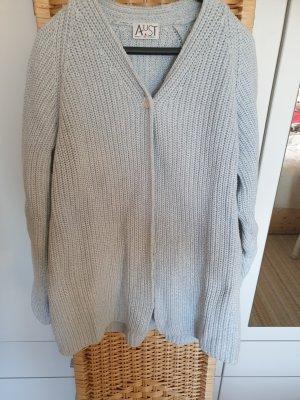 Aust Veste en tricot bleu clair