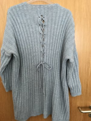 Knitted Coat azure-slate-gray