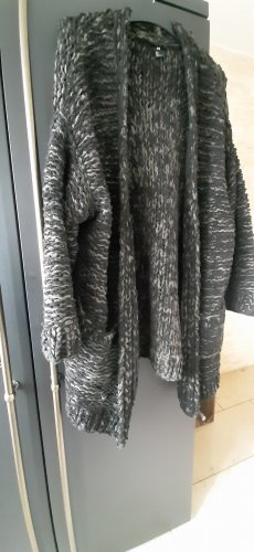 H&M Coarse Knitted Jacket multicolored