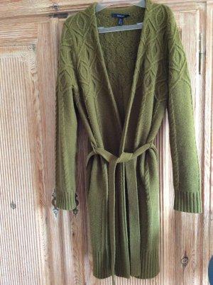 Gant Cardigan verde oliva Lana