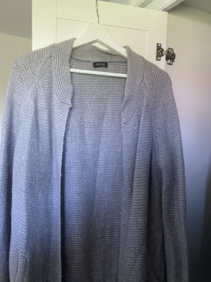 Woman by Tchibo Knitted Cardigan silver-colored