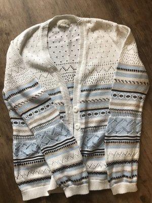 Authentic Veste en tricot multicolore