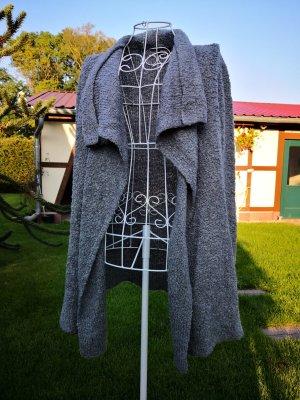 Gina Benotti Coarse Knitted Jacket grey