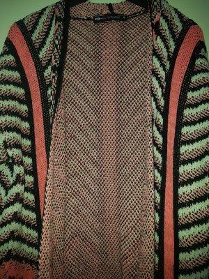 Fishbone Giacca in maglia bianco-rosa