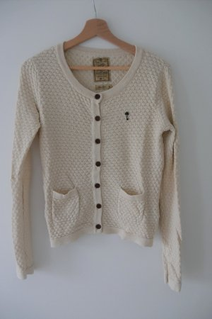 Knitted Vest oatmeal cotton