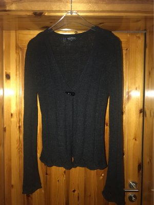Vestino Giacca in maglia nero