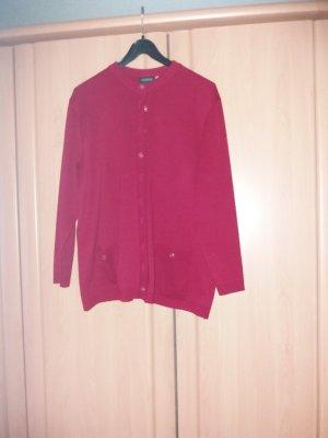 Canda Giacca in maglia rosso neon Acrilico