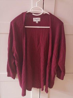 American Eagle Outfitters Cardigan tricotés bordeau