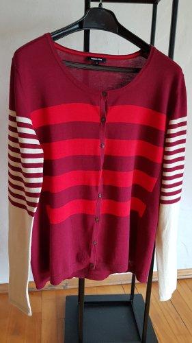 More & More Giacca in maglia multicolore Cotone