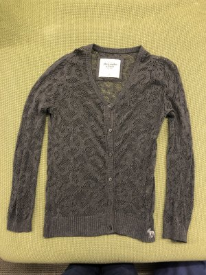 Abercrombie & Fitch Knitted Vest grey