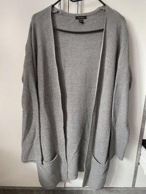 Amisu Giacca lunga grigio