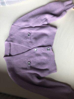 SheIn Cardigan en crochet rose-rose clair