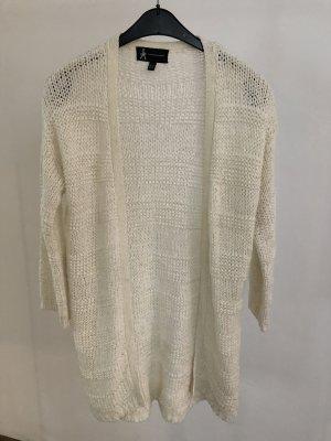 Atmosphere Veste tricotée en grosses mailles blanc cassé-crème