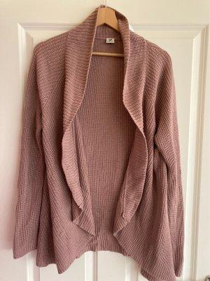 17&co Giacca in maglia color oro rosa