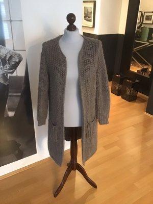 Alexandre Laurent Giacca di lana marrone-grigio Lana