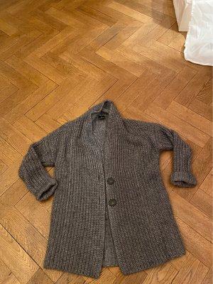Madeleine Wełniany sweter szary
