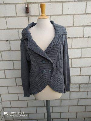 b.p.c. Bonprix Collection Giacca in maglia grigio