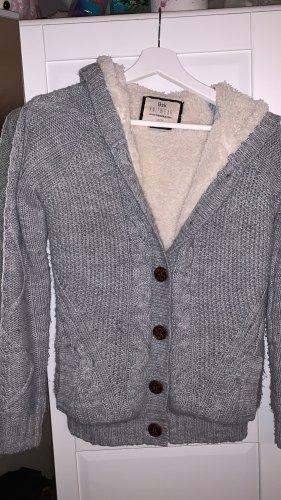 BSK by Bershka Veste en tricot gris