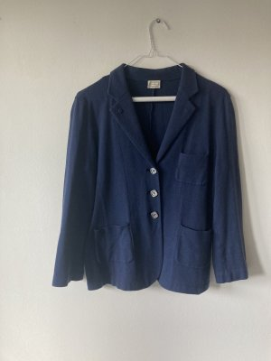 Agnona Short Jacket dark blue