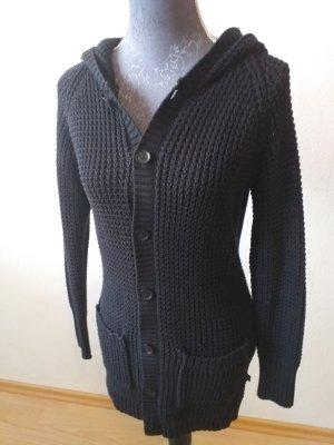 s.Oliver Coarse Knitted Jacket black