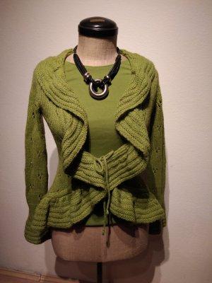 Camaieu Giacca in maglia verde prato
