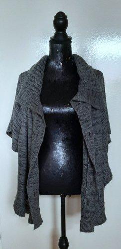 Janina Short Sleeve Knitted Jacket grey