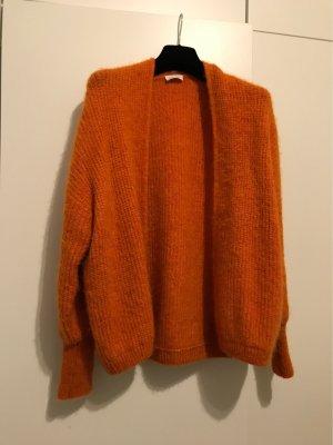 American Vintage Gebreid jack oranje