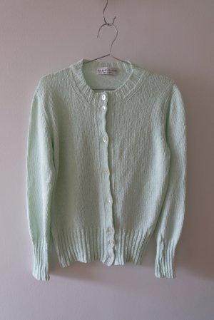 Brunello Cucinelli Knitted Cardigan lime-green cotton