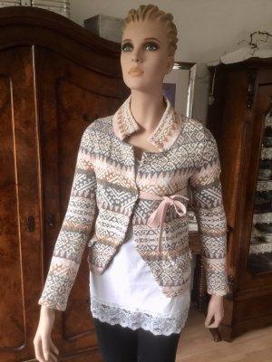 Odd Molly Veste cache-coeur multicolore coton