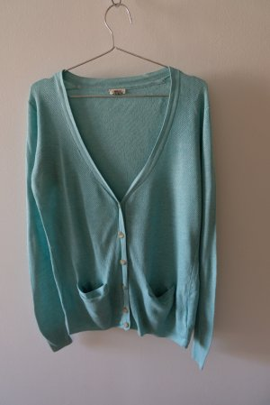 Fossil Cardigan tricotés turquoise
