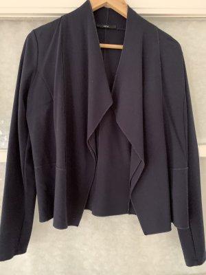Zero Chaqueta estilo camisa azul oscuro