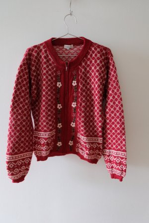 Intense Cardigan norvégien multicolore laine