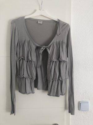 edc by Esprit Boléro en tricot gris clair