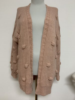 Cardigan all'uncinetto multicolore