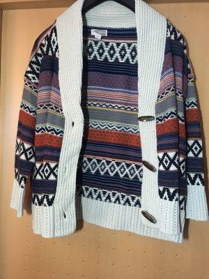 Forever 21 Veste tricotée en grosses mailles multicolore