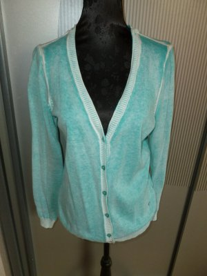 Strickjacke Cardigan blau Gina Laura