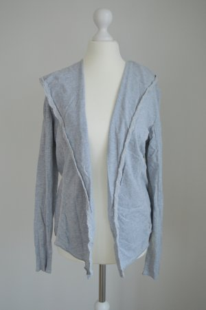 Strickjacke Cardigan hellgrau Tom Tailor Denim
