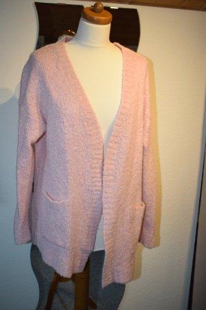 Strickjacke / Cardigan in tollem rosa von Pieces in Größe M
