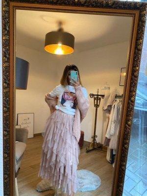 Boutique Comtesse Kurtka z dzianiny jasny różowy