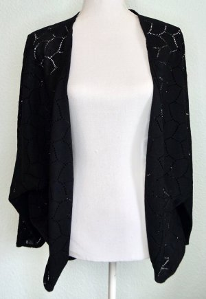 H&M Divided Cardigan all'uncinetto nero