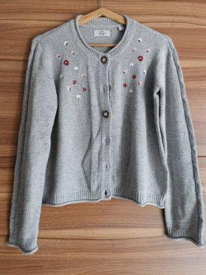 TCM Traditional Jacket light grey-carmine