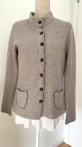Cassis Cardigan rose-gold-coloured wool
