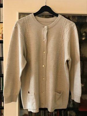 gerwi Wełniany sweter kremowy